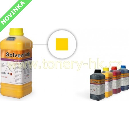 ECO SOLVENT Inkoust Yellow 1l